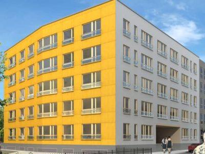 Uus-Tatari 12 kortermaja ehitustööd